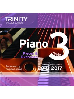 Trinity College London: Piano Exam Pieces 2015-17 (Grade 3) (CD) CDs | Piano