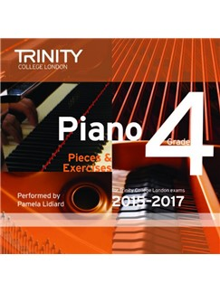 Trinity College London: Piano Exam Pieces 2015-17 (Grade 4) (CD) CDs | Piano