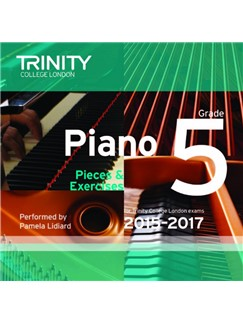 Trinity College London: Piano Exam Pieces 2015-17 (Grade 5) (CD) CD | Piano