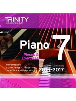 Trinity College London: Piano Exam Pieces 2015-17 (Grade 7) (CD) CDs | Piano