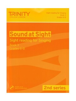 Sound At Sight (2nd Series): Singing Book 3 - Grades 6-8 Books | Voice, Piano Accompaniment