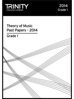 Trinity College London: Theory Past Papers 2014 - Grade 1 Books | All Instruments