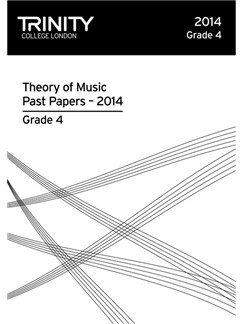 Trinity College London: Theory Past Papers 2014 - Grade 4 Books | All Instruments