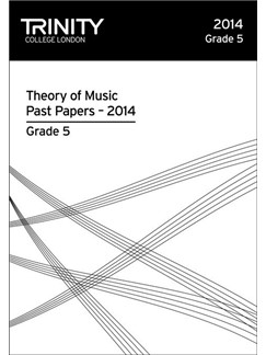 Trinity College London: Theory Past Papers 2014 - Grade 5 Books | All Instruments