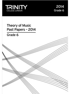 Trinity College London: Theory Past Papers 2014 - Grade 6 Books | All Instruments