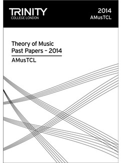 Trinity College London: Theory Past Papers 2014 - AMusTCL Books | All Instruments