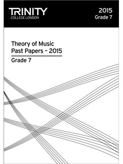 Trinity College London: Theory Past Papers - Grade 7 (2015) Books |