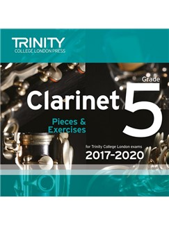 Trinity College London: Clarinet Exam Pieces - Grade 5 (2017-2020) (CD) CDs | Clarinet