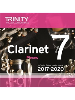 Trinity College London: Clarinet Exam Pieces - Grade 7 (2017-2020) (CD) CD | Klarinet