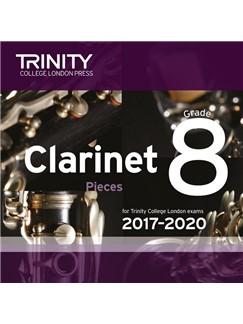 Trinity College London: Clarinet Exam Pieces - Grade 8 (2017-2020) (CD) CDs | Clarinet