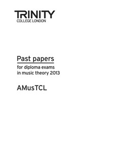 Trinity College London: Theory Past Papers 2013 - AMusTCL Books | All Instruments