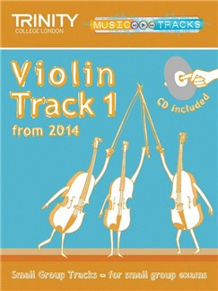 Trinity College London: Small Group Tracks - Violin Track 1 (Book/CD) Books and CDs | Violin