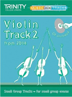 Trinity College London: Small Group Tracks - Violin Track 2 (Book/CD) Books and CDs | Violin