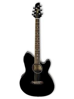 Ibanez: TCY10E Talman Electro-Acoustic Guitar - Black Instruments | Electro-Acoustic Guitar
