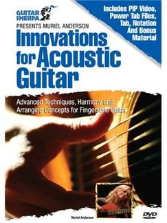 Muriel Anderson - Innovations For Acoustic Guitar DVDs / Videos | Guitar