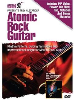Trey Alexander - Atomic Rock Guitar DVDs / Videos   Guitar