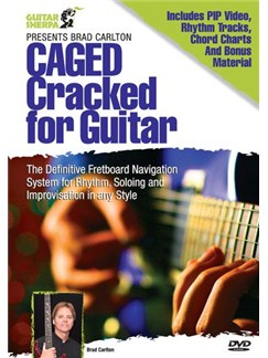 Brad Carlton - CAGED Cracked DVDs / Videos | Guitar