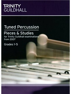 Trinity Guildhall: Tuned Percussion Pieces And Studies 2007 - Grades 1-5 Books | Xylophone/Marimba