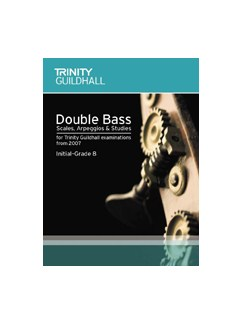 Trinity Guildhall: String Scales And Arpeggios (Double Bass) Books | Double Bass