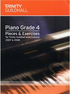 Trinity Guildhall: Piano Pieces And Exercises 2007-2008 - Grade 4 Books | Piano