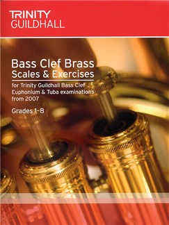 Trinity Guildhall: Brass Scales And Arpeggios (Bass Clef) Books | Brass Instruments