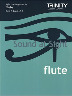 Trinity Guildhall: Sound At Sight - Flute: Book 2 (Grade 5-8) Books | Flute
