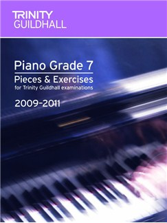 Trinity Guildhall: Piano Grade 7 - Pieces And Exercises 2009-2011 Books | Piano