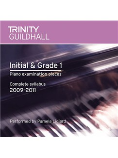 Trinity Guildhall: Piano Initial And Grade One - Pieces 2009-2011 (CD) CDs | Piano
