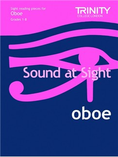 Trinity College London: Sound At Sight Oboe - Grades 1-8 Books | Oboe