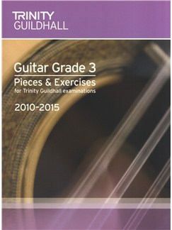 Trinity Guildhall: Guitar Grade 3 Pieces And Exercises - 2010 To 2015 Books | Guitar