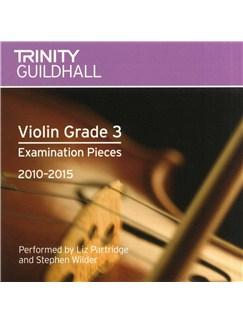 Trinity Guildhall: Violin Grade 3 CD - 2010 To 2015 CDs | Violin