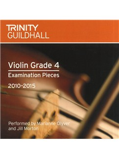 Trinity Guildhall: Violin Grade 4 CD - 2010 To 2015 CDs | Violin