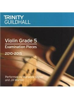 Trinity Guildhall: Violin Grade 5 CD - 2010 To 2015 CDs | Violin