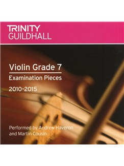 Trinity Guildhall: Violin Grade 7 CD - 2010 To 2015 CDs | Violin
