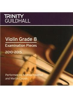 Trinity Guildhall: Violin Grade 8 CD - 2010 To 2015 CDs | Violin