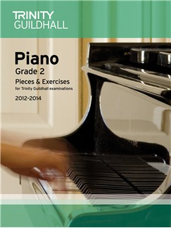 Trinity Guildhall: Piano Grade 2 - Pieces And Exercises 2012-2014 Books   Piano