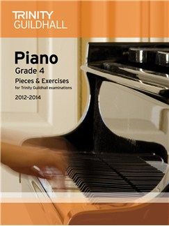 Trinity Guildhall: Piano Grade 4 - Pieces And Exercises 2012-2014 Books   Piano