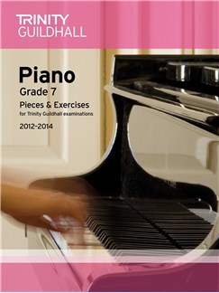 Trinity Guildhall: Piano Grade 7 - Pieces And Exercises 2012-2014 Books | Piano