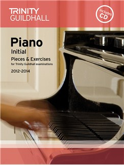 Trinity Guildhall: Piano Initial - Pieces And Exercises 2012-2014 (Book/CD) Books and CDs | Piano