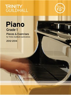 Trinity Guildhall: Piano Grade 1 - Pieces And Exercises 2012-2014 (Book/CD) Books and CDs | Piano