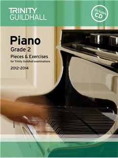 Trinity Guildhall: Piano Grade 2 - Pieces And Exercises 2012-2014 (Book/CD) Books and CDs | Piano