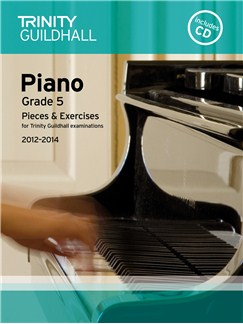 Trinity Guildhall: Piano Grade 5 - Pieces And Exercises 2012-2014 (Book/CD) Books and CDs | Piano