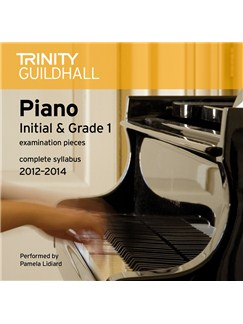 Trinity Guildhall: Piano Initial And Grade 1 - Pieces 2012-2014 (CD) CDs | Piano
