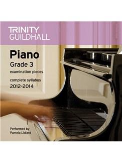 Trinity Guildhall: Piano Grade 3 - Pieces 2012-2014 (CD) CDs | Piano