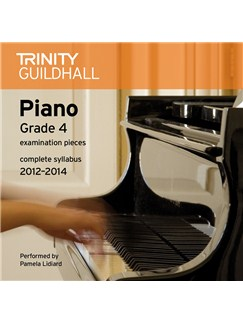 Trinity Guildhall: Piano Grade 4 - Pieces 2012-2014 (CD) CDs | Piano