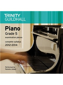 Trinity Guildhall: Piano Grade 5 - Pieces 2012-2014 (CD) CDs | Piano