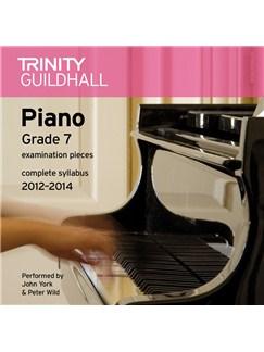 Trinity Guildhall: Piano Grade 7 - Pieces 2012-2014 (CD) CDs | Piano