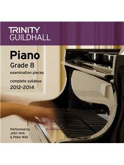 Trinity Guildhall: Piano Grade 8 - Pieces 2012-2014 (CD) CDs | Piano