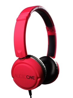 AudioCAKE: TGAC10RB Headphones - Red  |