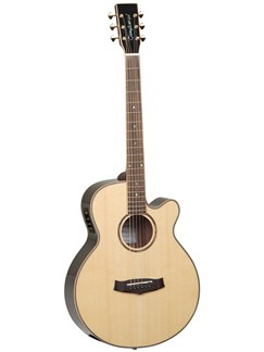 Tanglewood: TGRSF Grand Reserve (Mahogany/Natural Gloss) Instruments | Electro-Acoustic Guitar